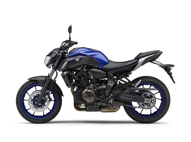 画像4: ヤマハが「MT-07 ABS」の2020年モデルを発表! 新色のブルーを新たにラインナップ