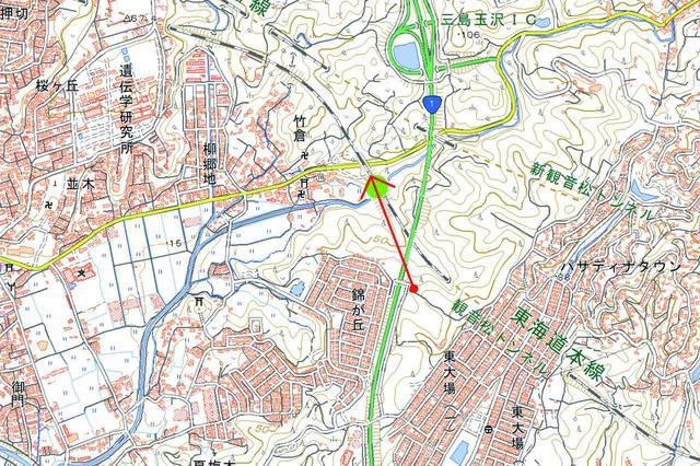 画像: 東海道本線(函南~三島)