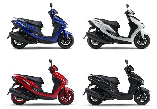 画像17: ヤマハの原付二種「シグナスX」の2020年モデルが登場! 新色を2色追加し4月10日に発売