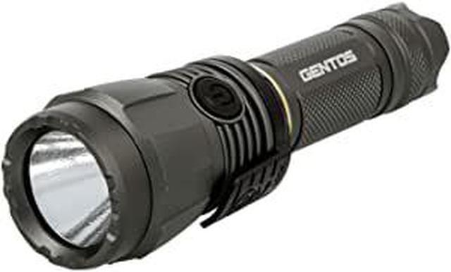 画像: Amazon | GENTOS(ジェントス) LED 懐中電灯 USB充電式 【明るさ1000ルーメン/実用点灯5時間/2m防水】 専用充電池使用 アルティレックス UT-1900R ANSI規格準拠 | GENTOS(ジェントス) | ハンディライト
