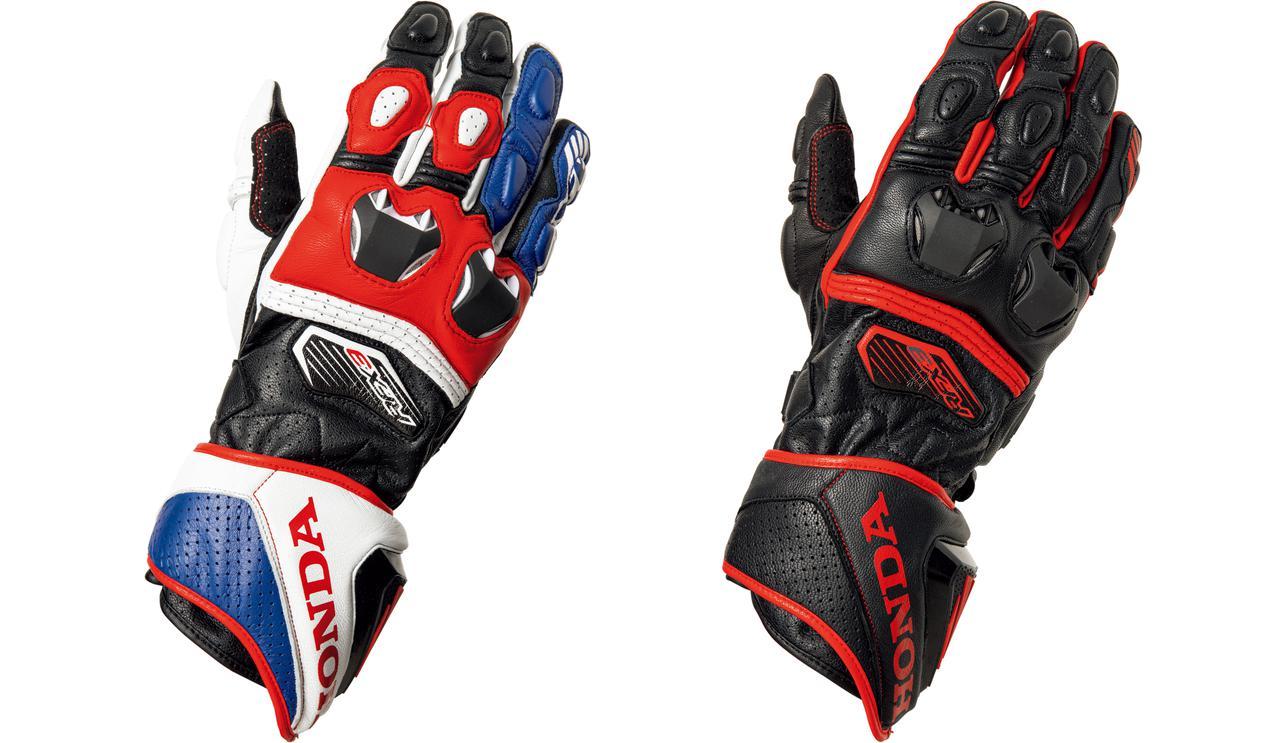 画像1: 〈Honda×FIVE〉によるレーシンググローブが登場! HRCロゴ入り、本気のライディングを支えるプロテクション性能も魅力