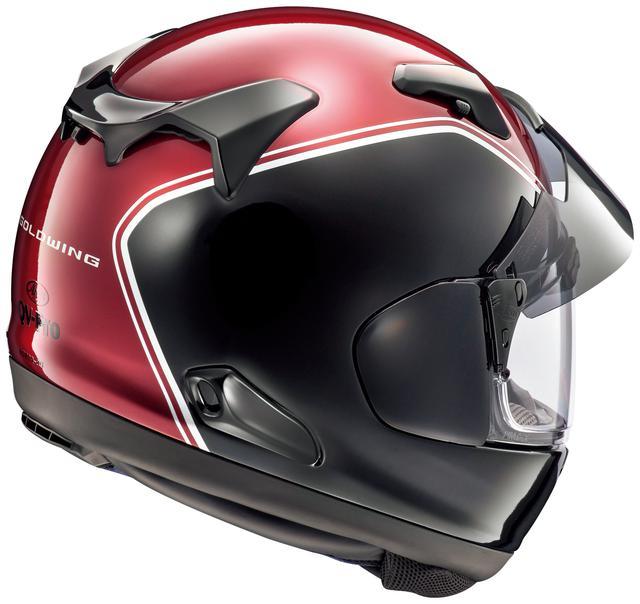 画像2: 【Arai × Honda】ゴールドウイングのカラーにマッチしたヘルメットが2種類ラインナップ!
