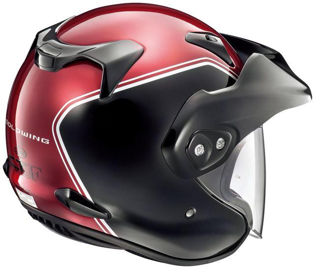 画像4: 【Arai × Honda】ゴールドウイングのカラーにマッチしたヘルメットが2種類ラインナップ!