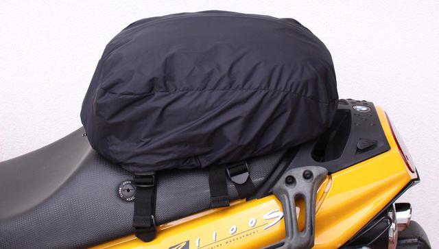 画像3: 荷物の量に合わせて、高さが調節できるシートバック