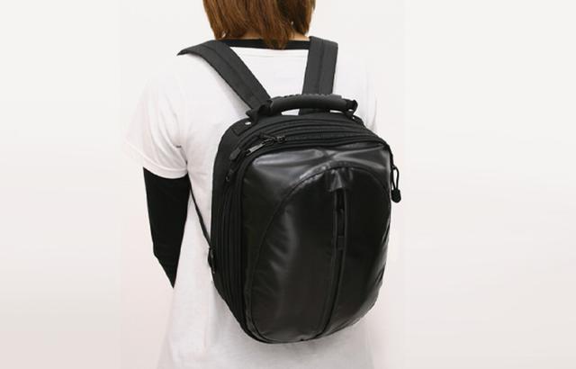 画像4: 荷物の量に合わせて、高さが調節できるシートバック