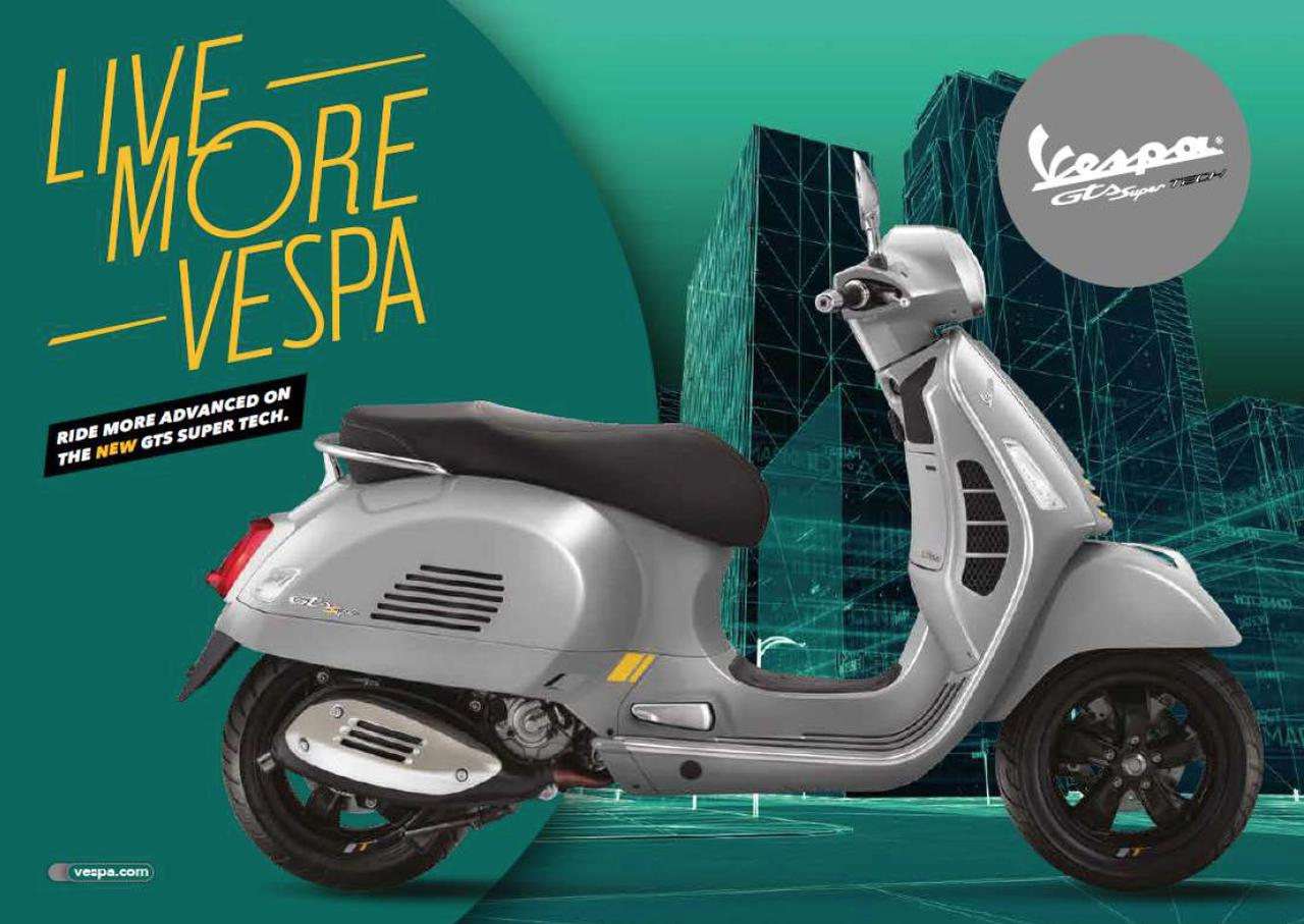画像: Vespa GTS SuperTech 300 : SPECIFICATIONS