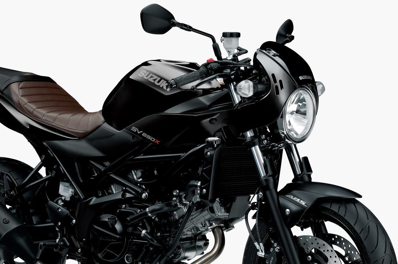 画像: 今年は黒! スズキが「SV650X ABS」の2020年モデルを発表! カラーを一新し3月18日に発売 - webオートバイ