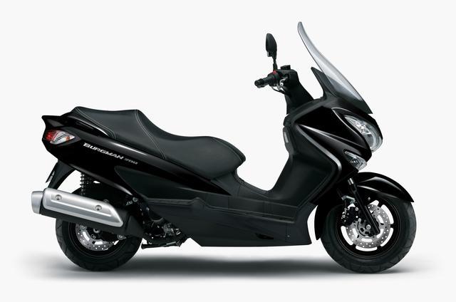画像2: スズキが「バーグマン200」の2020年モデルを3月26日に発売! 新色登場、3カラーで展開