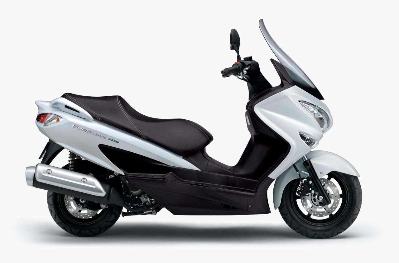 画像3: スズキが「バーグマン200」の2020年モデルを3月26日に発売! 新色登場、3カラーで展開
