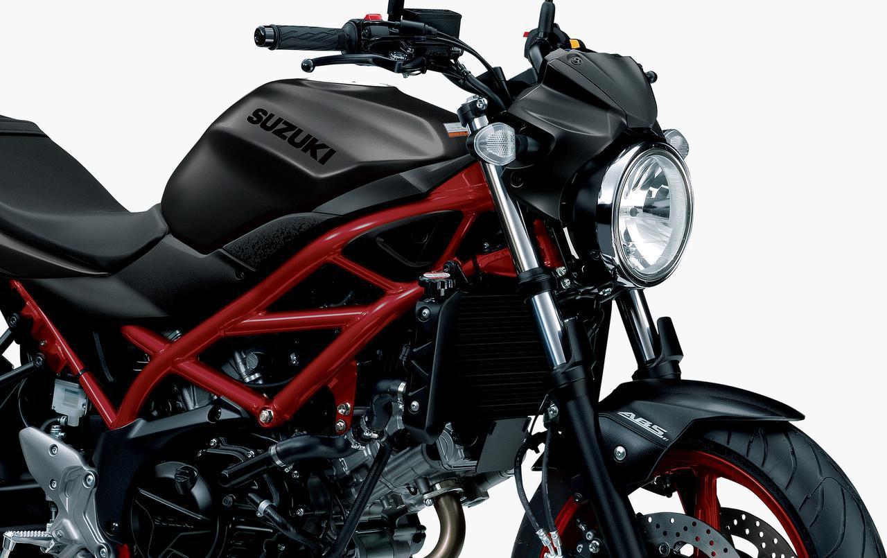 画像: スズキ「SV650 ABS」の2020年モデルが登場! 3色すべて新色で3月18日に発売! - webオートバイ