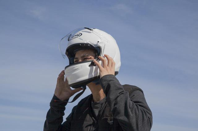 画像3: F1で培われた内装技術をフィードバック、脱ぎ被りのしやすさも追求した!