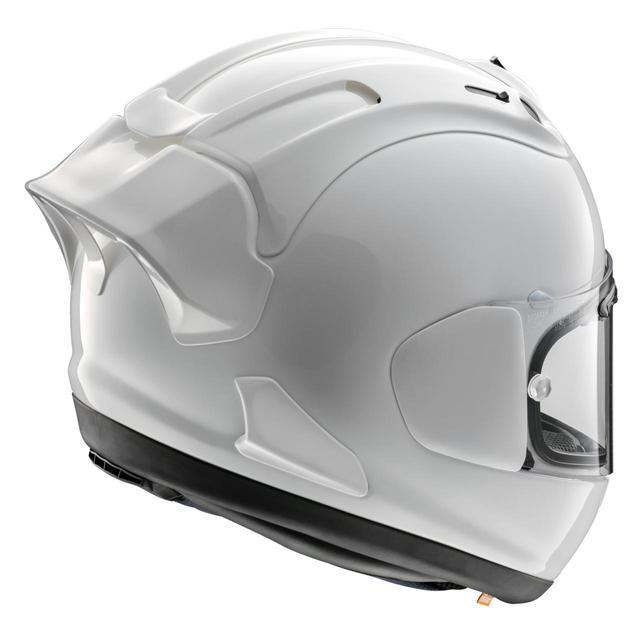 画像2: 後頭部に注目! 待望のエアロデバイスを採用した本格レーサー仕様のヘルメット