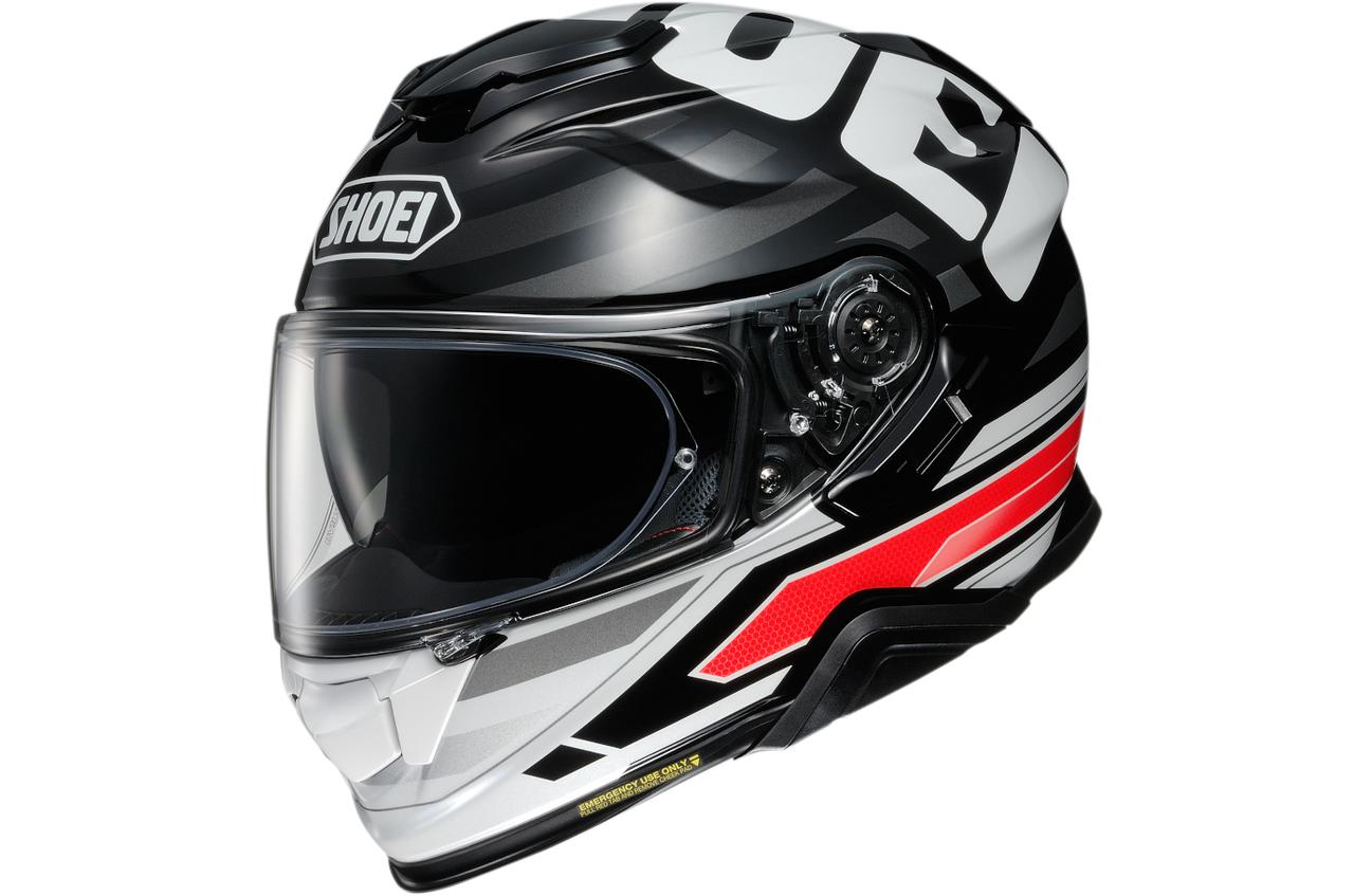 画像2: 頭頂部におっきくSHOEI! インナーバイザー搭載のフルフェイスヘルメット「GT-AirII」の最新グラフィック〈INSIGNIA〉