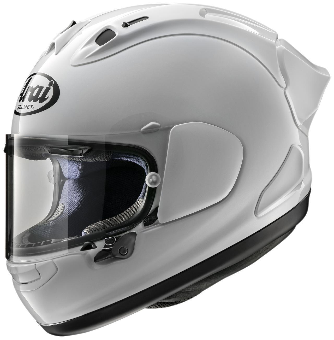 画像1: 後頭部に注目! 待望のエアロデバイスを採用した本格レーサー仕様のヘルメット