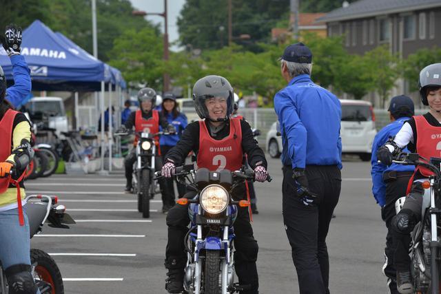 画像2: スキルアップしながらバイク仲間も作れる「若者・女性限定レッスン」