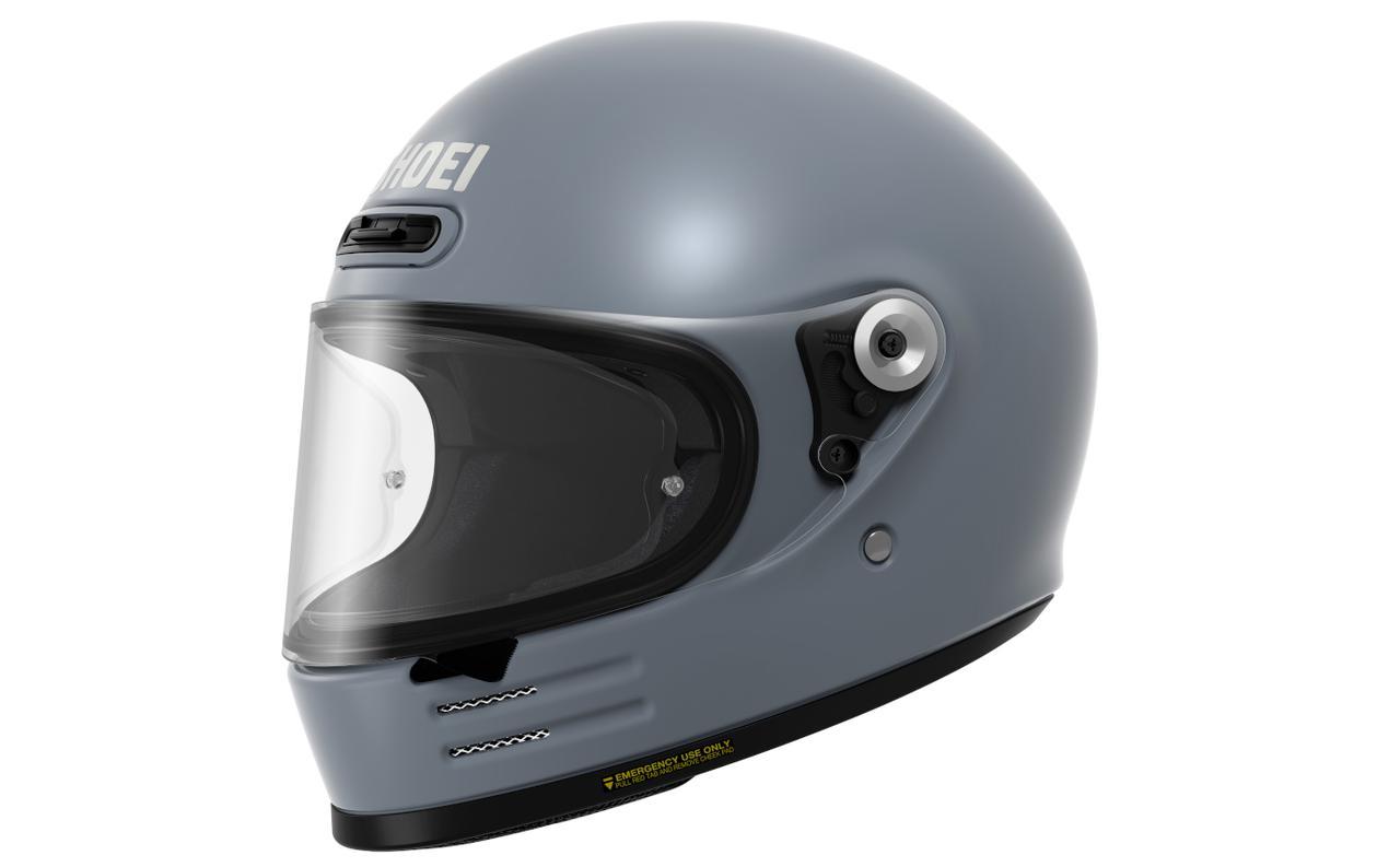 画像4: 【SHOEI】2020年のニューモデルは丸い! 新型フルフェイスヘルメット「Glamster」(グラムスター)を発表!