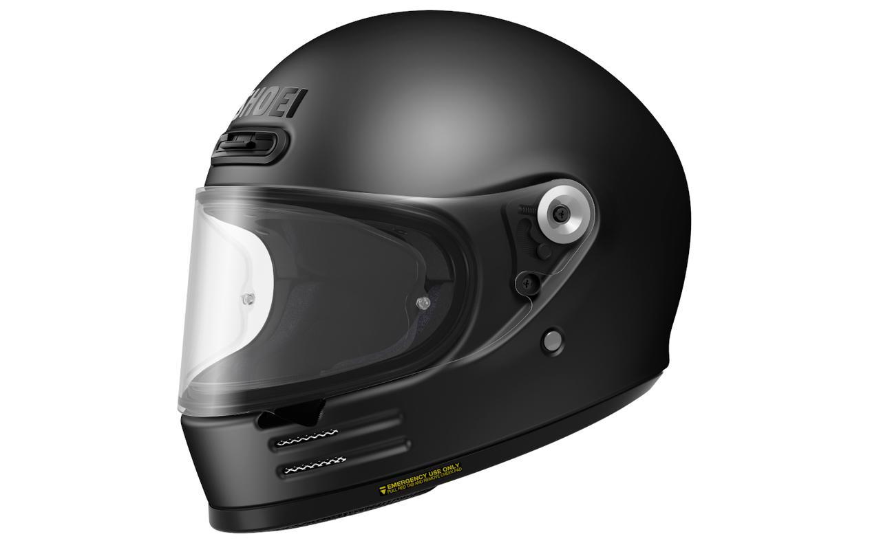 画像3: 【SHOEI】2020年のニューモデルは丸い! 新型フルフェイスヘルメット「Glamster」(グラムスター)を発表!