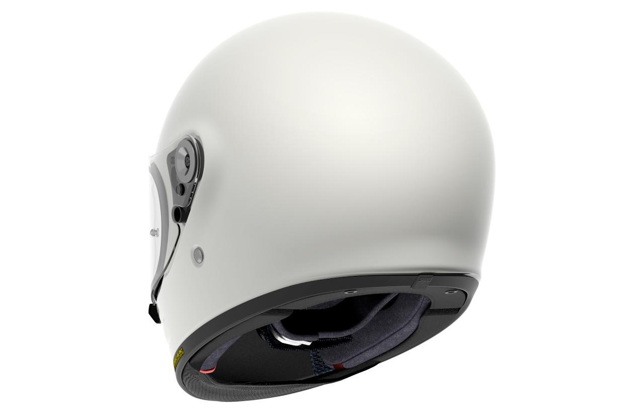画像4: 新型車にも古いバイクにも似合いそうな、ネオクラシックヘルメットが秋に出る!