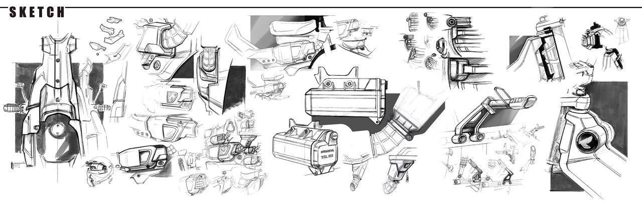画像2: ホンダ「CT125・ハンターカブ」の貴重なデザインスケッチ!