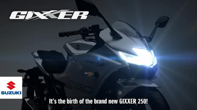 画像: GIXXER SF 250 Technical Presentation Video | Suzuki www.youtube.com