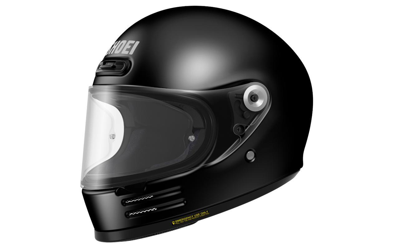 画像2: 【SHOEI】2020年のニューモデルは丸い! 新型フルフェイスヘルメット「Glamster」(グラムスター)を発表!