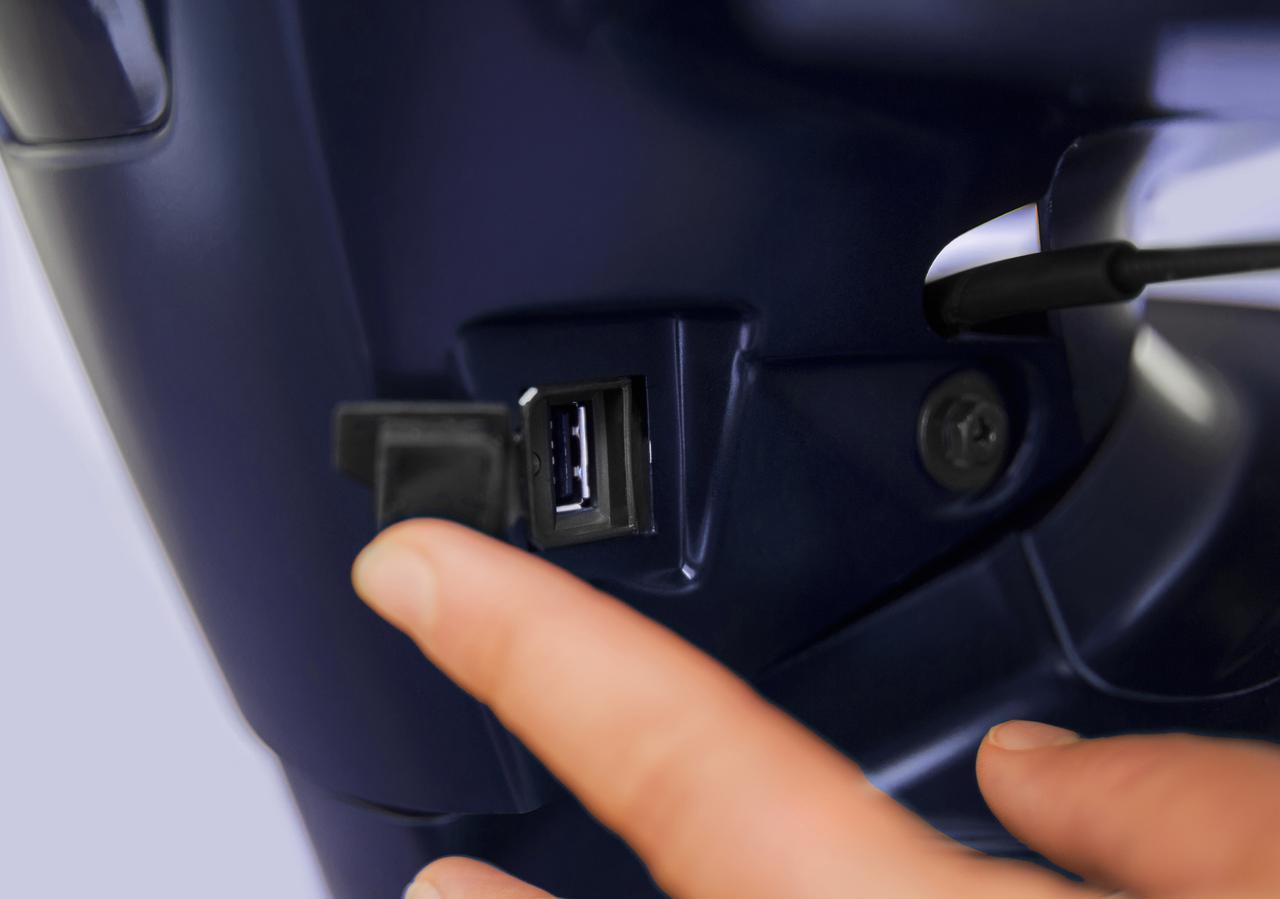 画像4: 【新車】パニアケース&ハイスクリーンが標準装備でこの価格!?  キムコのハイホイール・スクーター「Tersely S125/150」にニューカラーが登場!