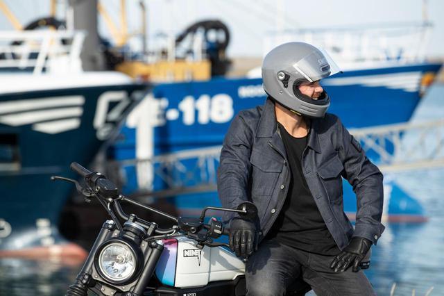 画像1: 新型車にも古いバイクにも似合いそうな、ネオクラシックヘルメットが秋に出る!