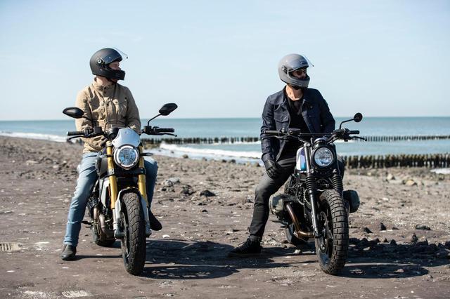 画像5: 新型車にも古いバイクにも似合いそうな、ネオクラシックヘルメットが秋に出る!