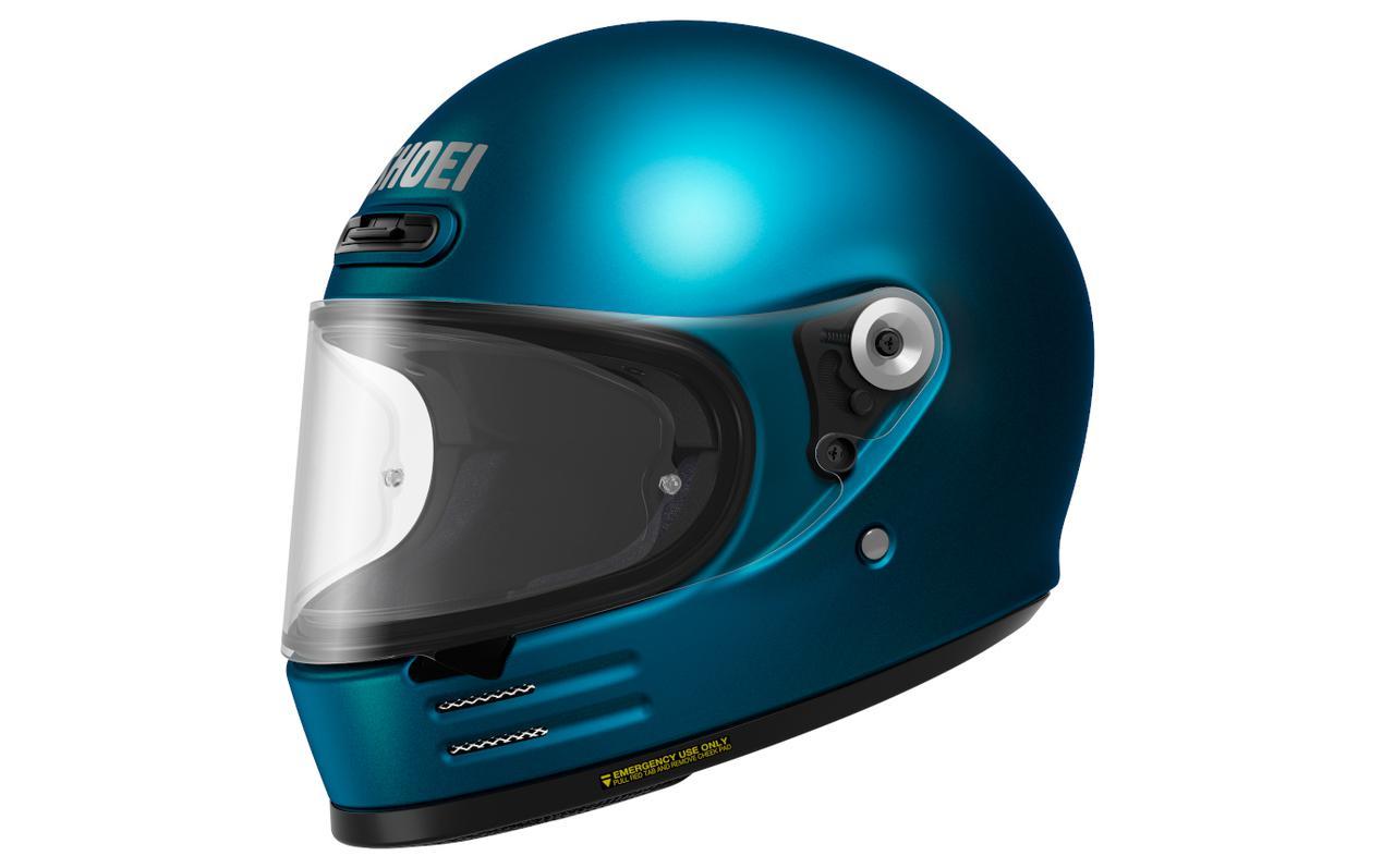 画像5: 【SHOEI】2020年のニューモデルは丸い! 新型フルフェイスヘルメット「Glamster」(グラムスター)を発表!
