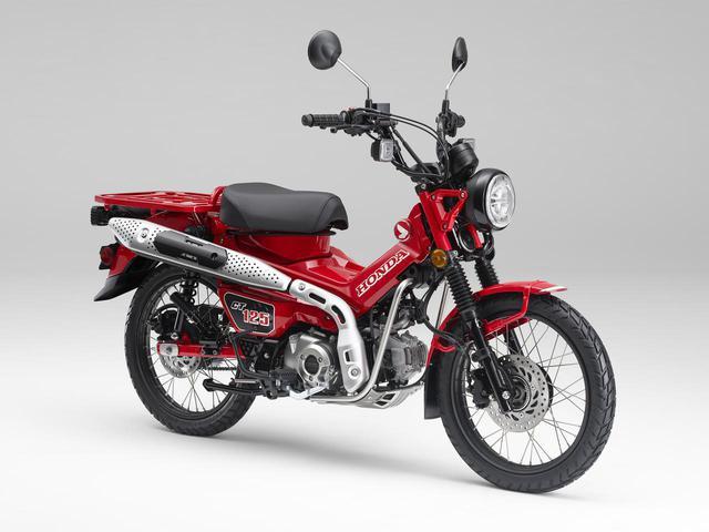 画像: Honda CT125・ハンターカブ 空冷SOHC単気筒・124cc/税込価格:44万円/2020年6月26日(金)発売予定