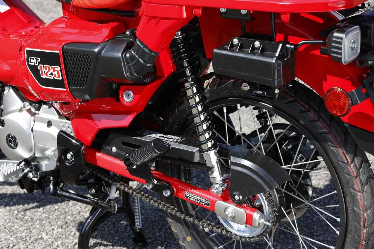 Images : 6番目の画像 - SP武川のパーツを装備したカスタム「CT125・ハンターカブ」 - webオートバイ