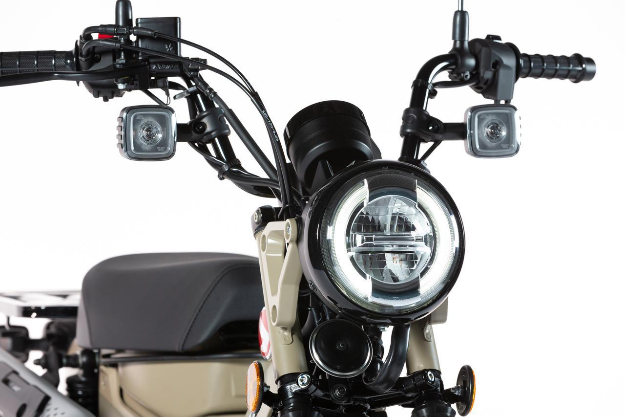 画像: ヘッドライトをはじめ、テールランプ・ウインカーもすべてLEDを採用。