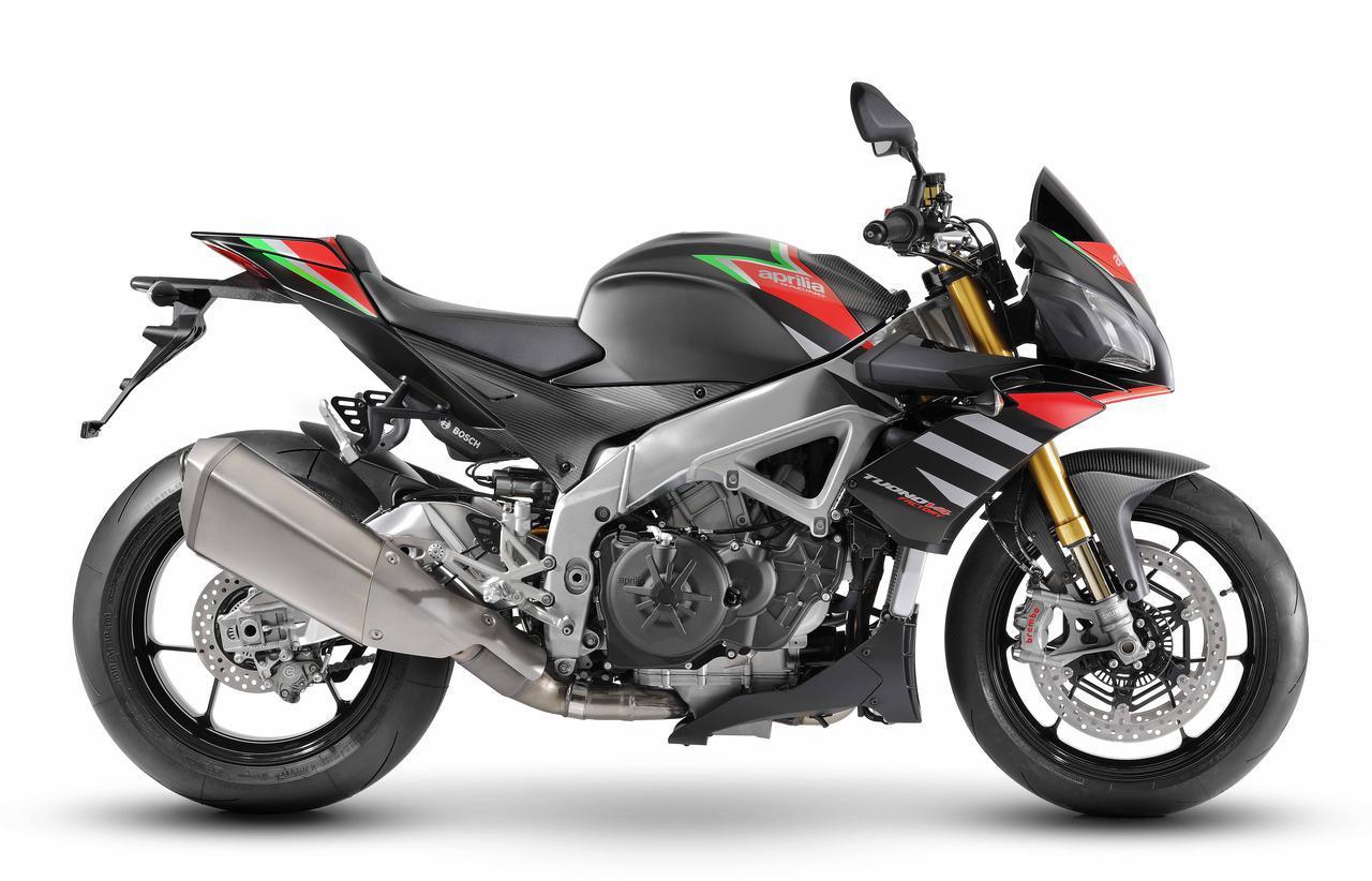 画像1: 【新車】アプリリアのストリートネイキッドスポーツ「トゥオーノ V4 1100 Factory」の2020年モデルが登場!
