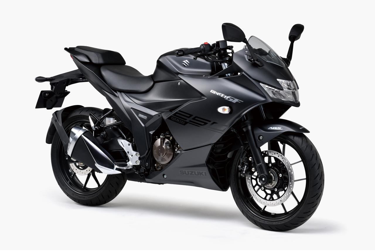 画像2: 【驚きの40万円台】スズキ「ジクサーSF250」「ジクサー250」の価格と発売日が決定! 油冷単気筒250ccがいよいよ国内デビュー