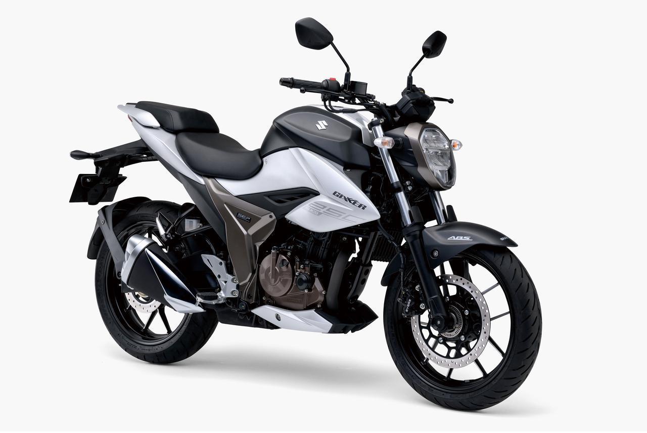 画像4: 【驚きの40万円台】スズキ「ジクサーSF250」「ジクサー250」の価格と発売日が決定! 油冷単気筒250ccがいよいよ国内デビュー