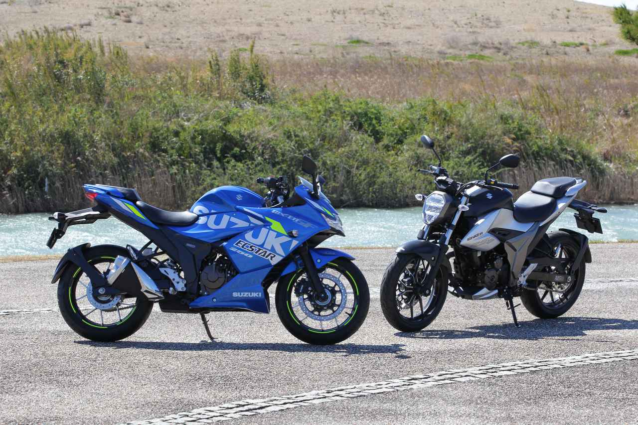 Images : 14番目の画像 - 「ジクサーSF250」「ジクサー250」の写真をまとめて見る! - webオートバイ