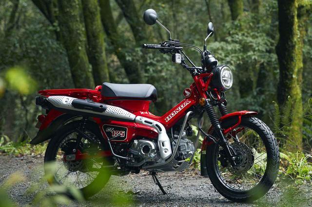 画像2: 発売日&価格が決定! ホンダ「CT125・ハンターカブ」最新情報! 詳細なスペックも出た、これが市販予定車だ! - webオートバイ