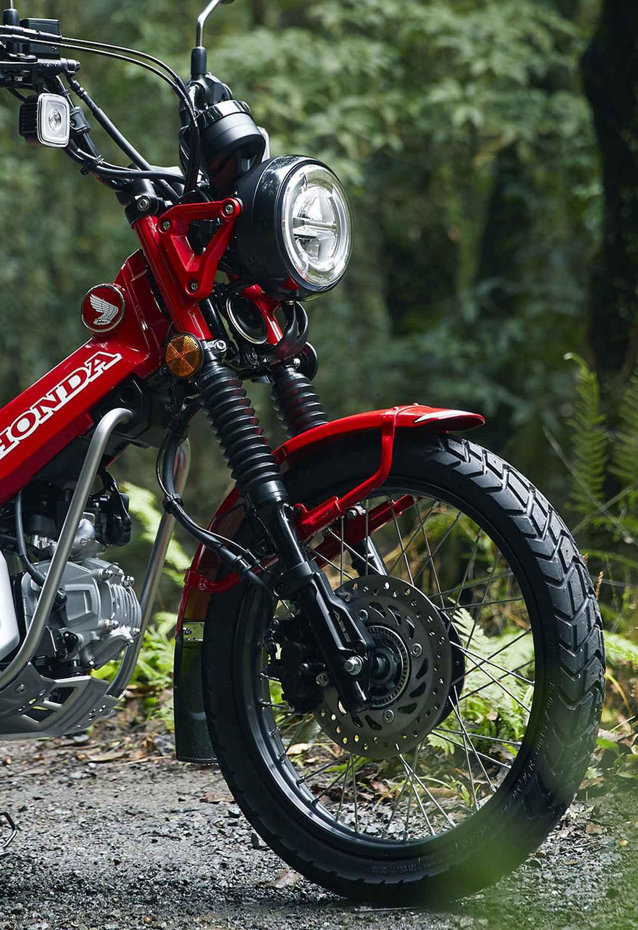画像1: 発売日&価格が決定! ホンダ「CT125・ハンターカブ」最新情報! 詳細なスペックも出た、これが市販予定車だ! - webオートバイ