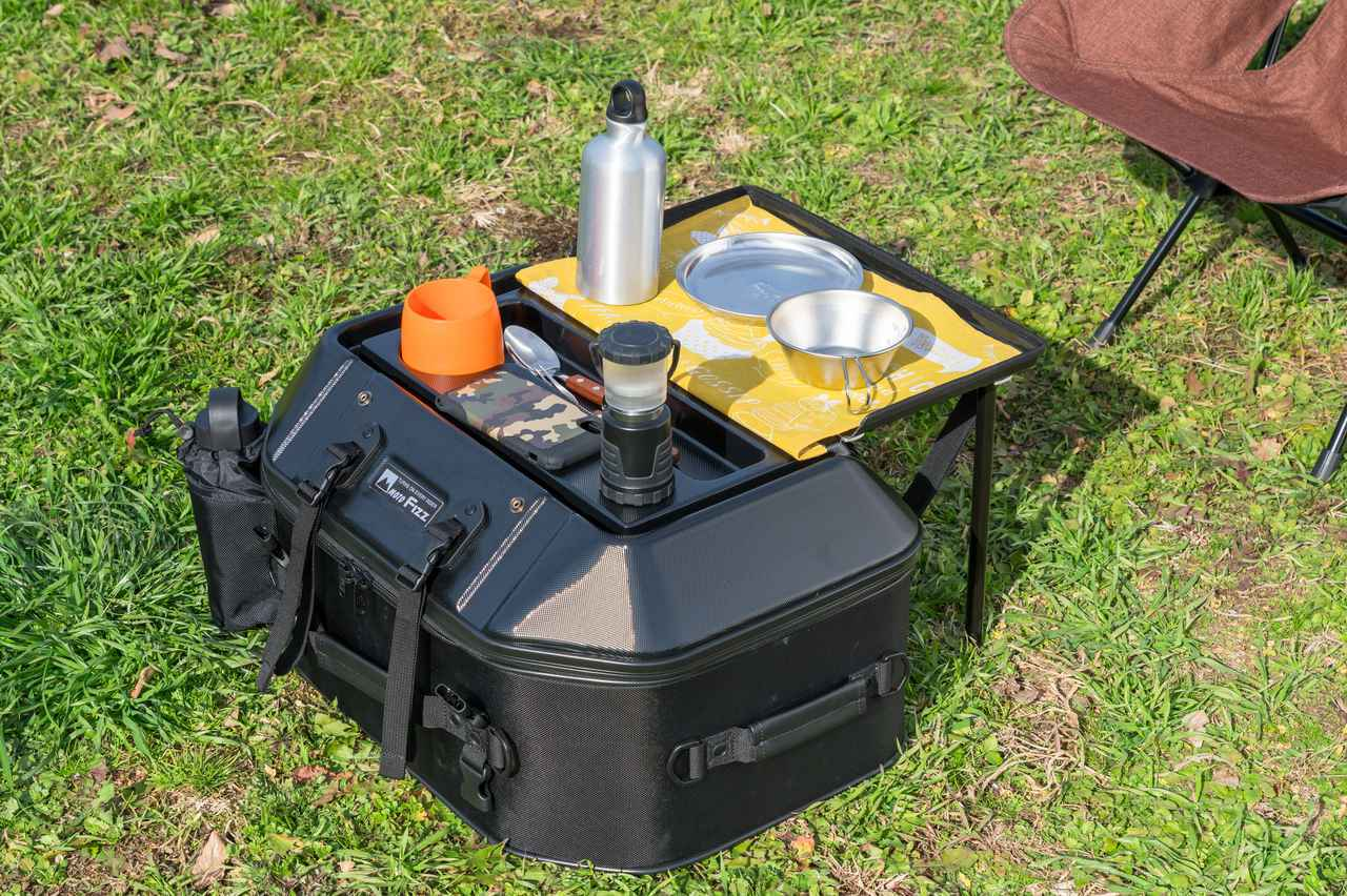 画像2: 遊び心にあふれた便利なシートバッグがいよいよ製品化