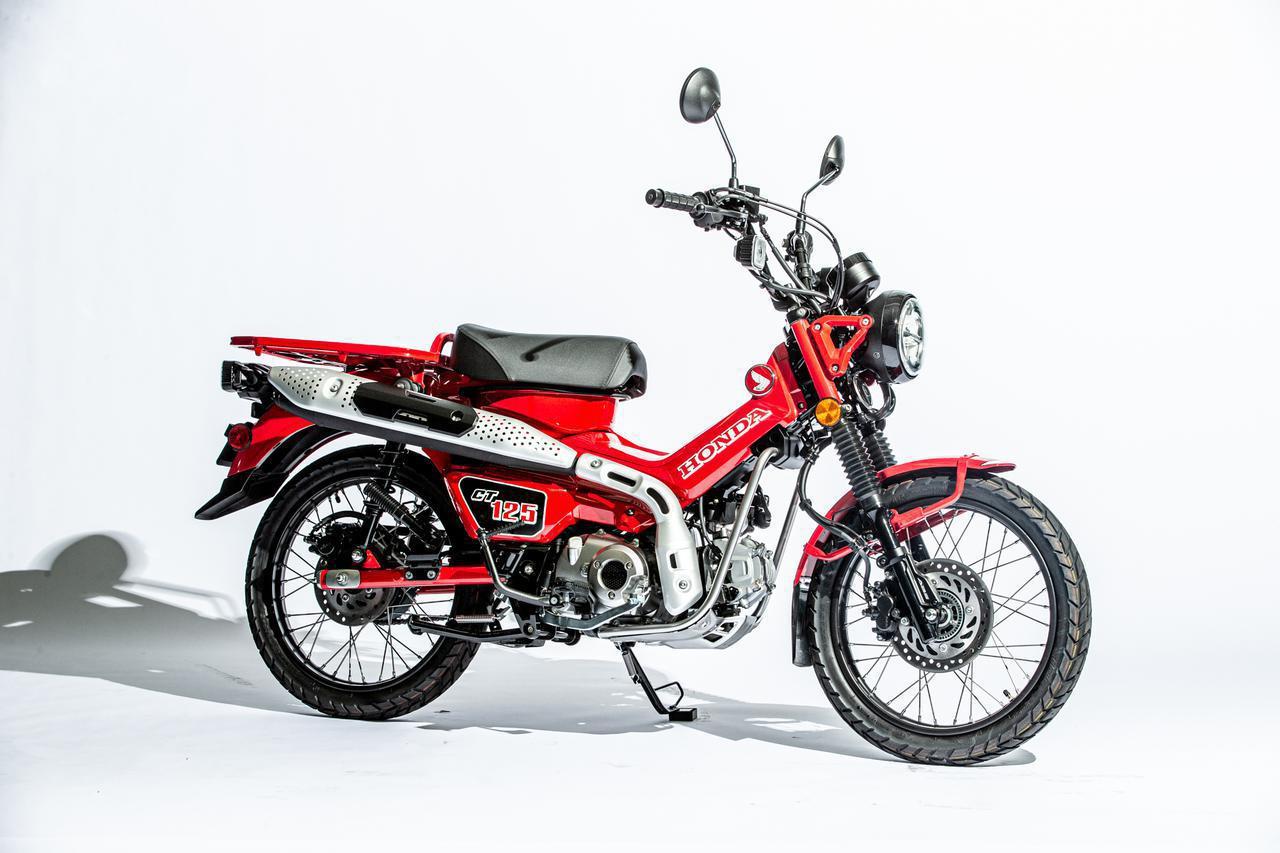画像: ついに出たCT125ハンターカブ、44万円 100枚の写真で超ロング徹底解説 - webオートバイ