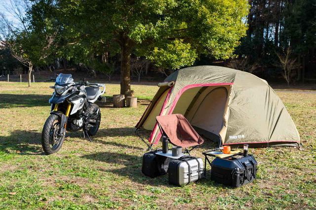 画像4: ゴージャスなツーテーブルキャンプが楽しめます!