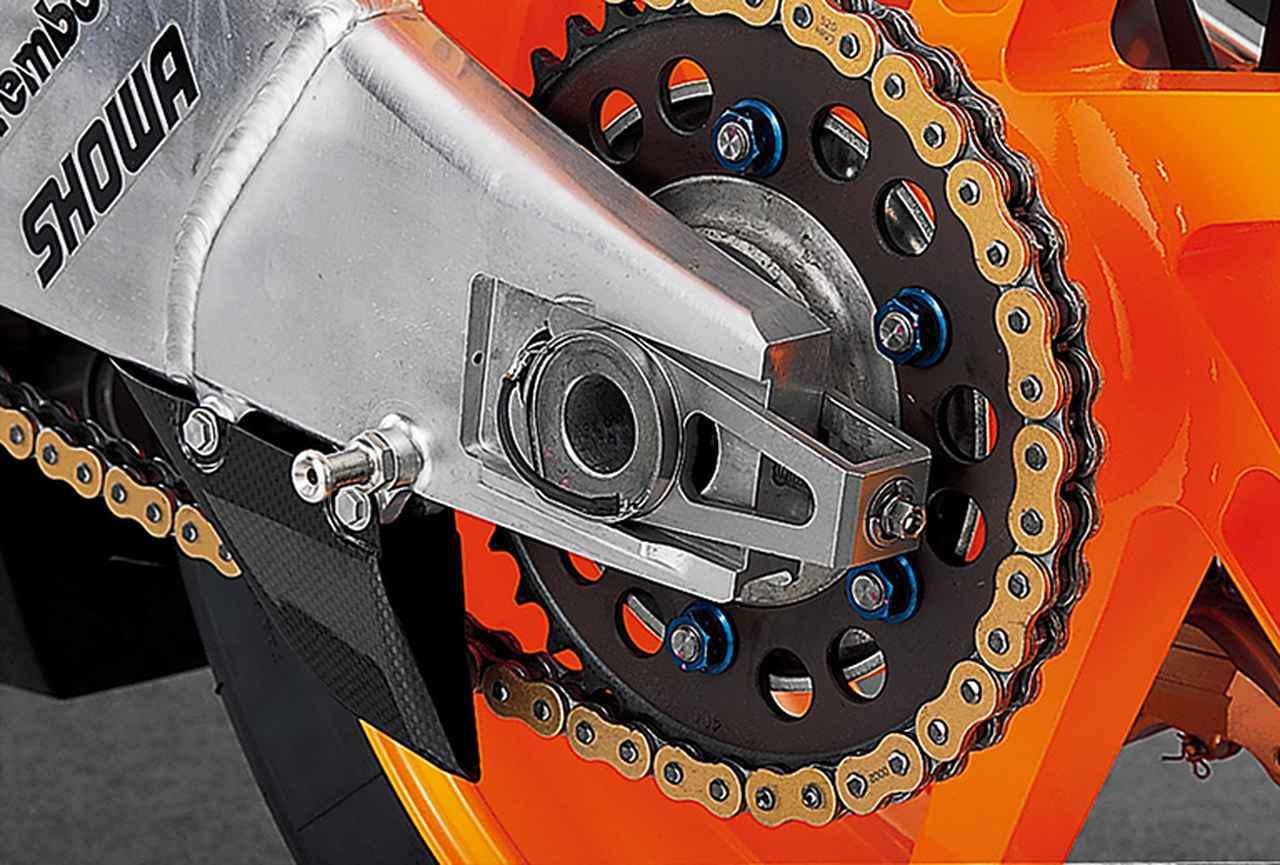 画像5: HONDA RC211V(2006)を徹底解剖する