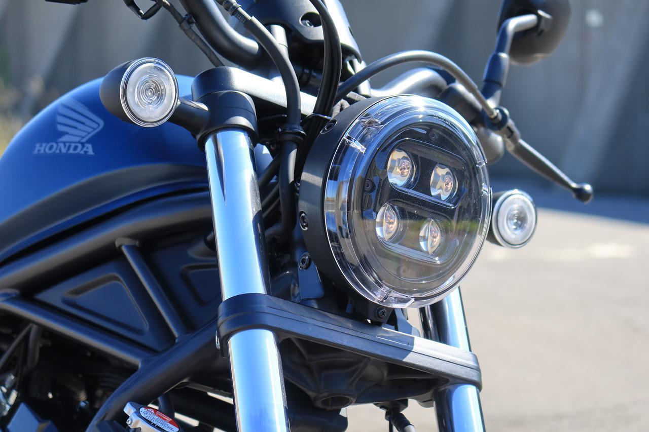 画像: LED4灯を採用。