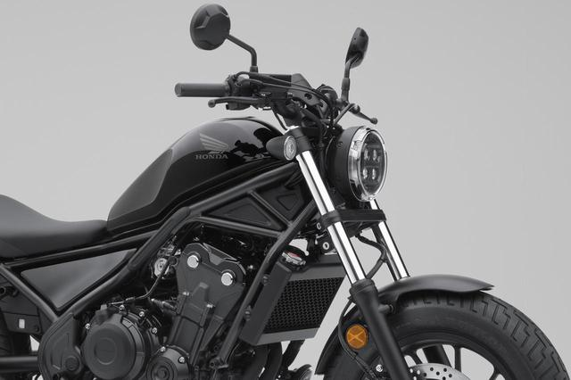 画像: ホンダ「レブル500」のニューモデルが登場! Rebel250と同様に灯火器をすべてLED化し、フェイスデザインも変わった! - webオートバイ