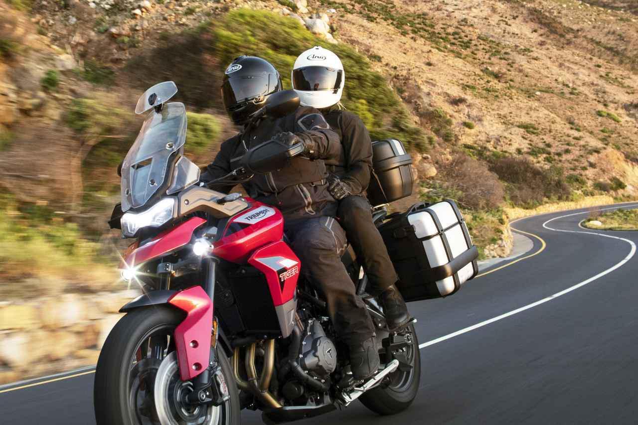 画像: 【新車】トライアンフの新型ミドルアドベンチャー「タイガー900」シリーズの価格 - webオートバイ