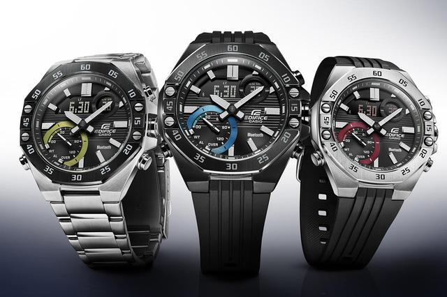 画像: モータースポーツの世界観から生まれた「エディフィス」の高機能腕時計「ECB-10」が3月6日に発売 - webオートバイ