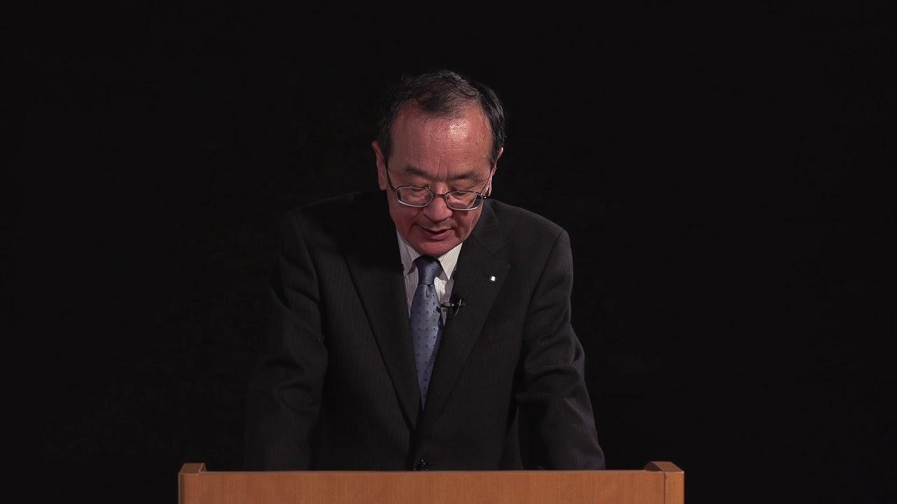 画像: 濱本社長メッセージ www.youtube.com