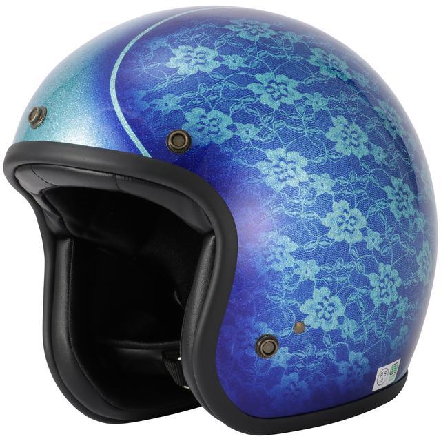 画像7: キャンディペイントで仕上げた大人のグラフィック! RIDEZが「二キトーヘルメット」の限定モデルを4月1日に発売