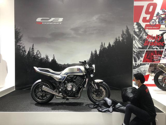 画像3: Honda バーチャルモーターサイクルショーが開幕! 世界初公開「CB-F コンセプト」をはじめ、新型車が続々登場