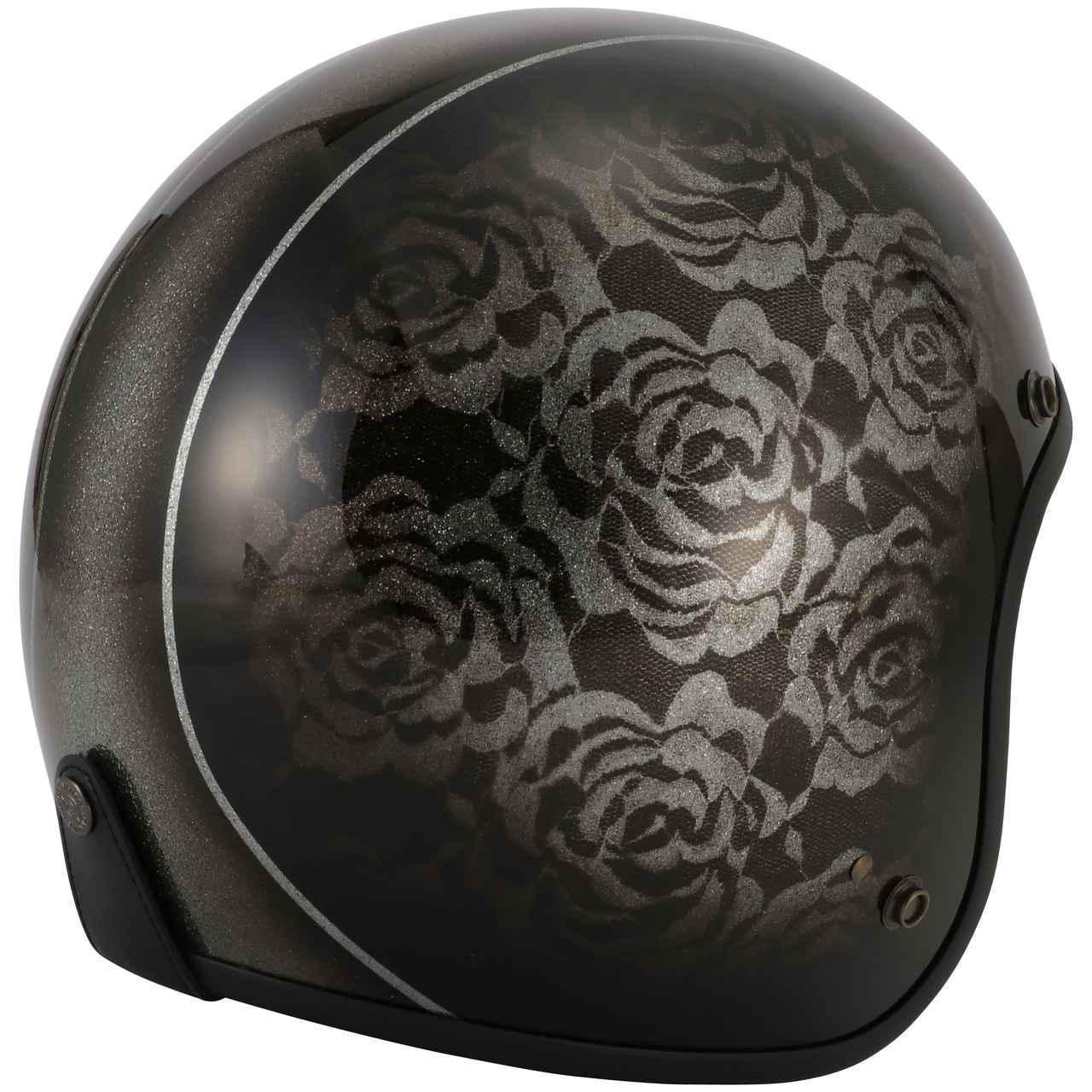 画像4: キャンディペイントで仕上げた大人のグラフィック! RIDEZが「二キトーヘルメット」の限定モデルを4月1日に発売